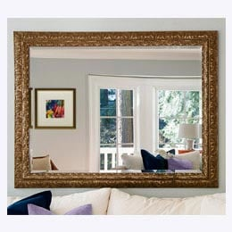 Custom Mirror Framing for the Home